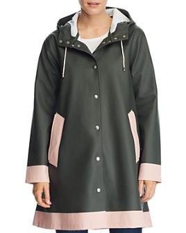Stutterheim - Mosebacke Color-Block Raincoat