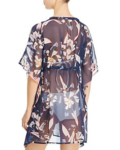 Echo - Lily Butterfly Caftan Swim Cover-Up