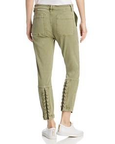 Current/Elliott - The Weslan Lace-Up Back Cuff Pants