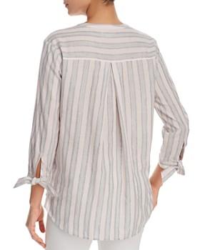 Finn & Grace - Metallic-Stripe Shirt