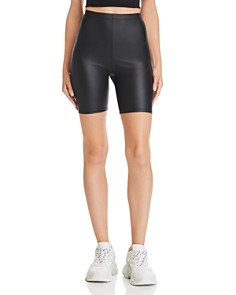 Sunset & Spring - Glossy Bike Shorts - 100% Exclusive