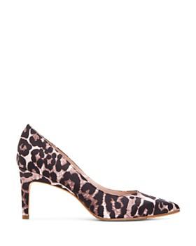 Taryn Rose - Women's Gabriela Leopard Print Pumps