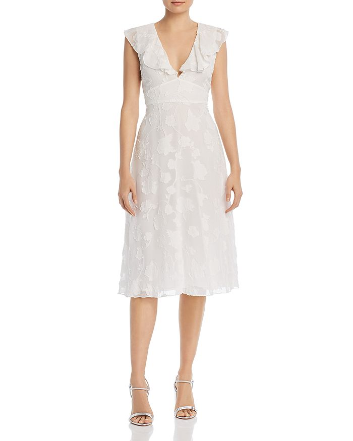 Joie - Adella Floral Embroidered Dress
