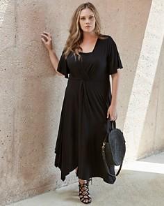 Karen Kane Plus - Twist-Front Maxi Dress