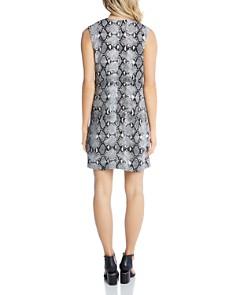 Karen Kane - Sleeveless Snake-Print Shift Dress - 100% Exclusive