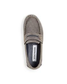 STEVE MADDEN - Boys' BSharper Slip On Sneakers - Little Kid, Big Kid