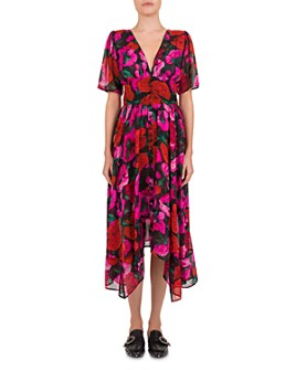 The Kooples - Dolce Vita Silk Floral-Print Dress