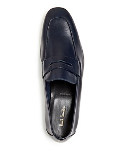 Paul Smith - Men's Glynn Leather Apron-Toe Penny Loafers