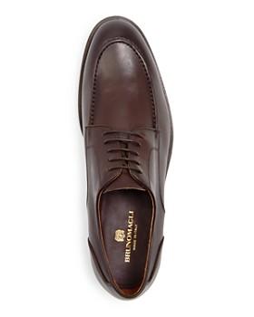 Bruno Magli - Men's Andrea Leather Apron-Toe Oxfords
