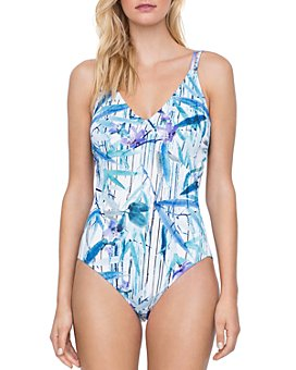Gottex - Exotic Paradise D-Cup One Piece Swimsuit
