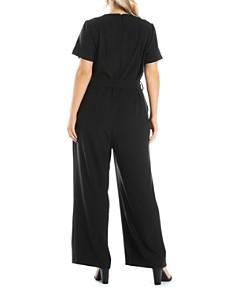 Estelle Plus - Tully Short-Sleeve Jumpsuit