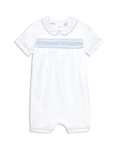 Ralph Lauren - Boys' Smocked Cotton Shortall - Baby