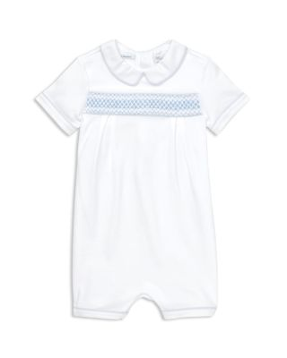 Boys' Smocked Cotton Shortall   Baby by Ralph Lauren