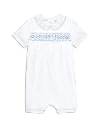 Ralph Lauren - Boys' Smocked Cotton Shortall - Baby