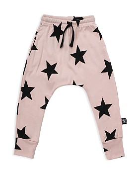 NUNUNU - Girls' Star Baggy Pants - Baby
