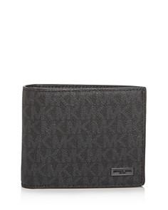 Michael Kors - Jet Set Signature Bi-Fold Wallet & Card Case