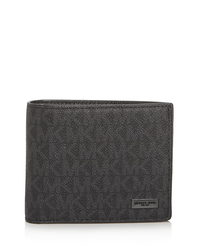 Michael Kors - Jet Set Signature Bi-Fold Wallet & Card Case