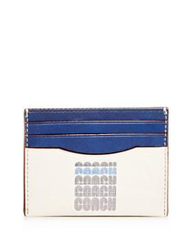 COACH - 1941 Color-Block Leather Card Case