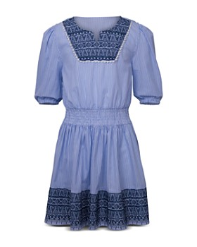 099b950503 BCBGirls - Girls  Embroidered   Striped Dress - Little Kid ...
