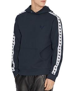 COACH - Rexy Contrast-Stripe Hooded Sweatshirt