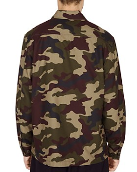 OBEY - Station Camouflage-Print Shirt Jacket