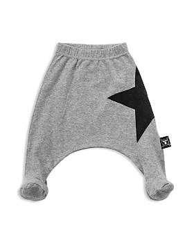 NUNUNU - Unisex Star Footed Baggy Pants - Baby