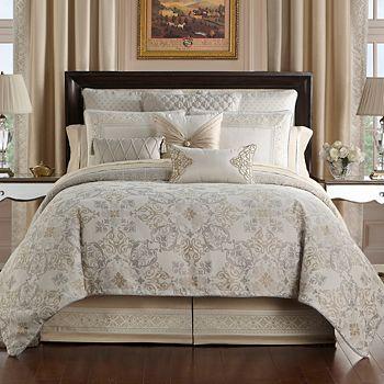 Waterford - Shelah Reversible Comforter Set, Queen