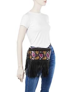 Longchamp - Amazone Multicolor Python Leather Belt Bag