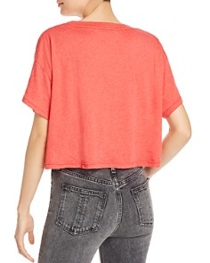 WILDFOX - Snacks All Day Cropped Tee