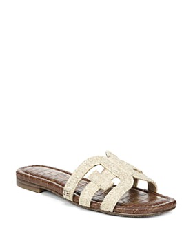 51741b7f8522 Sam Edelman - Women s Beckie Woven Slide Sandals ...
