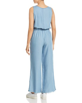 Billy T - Sleeveless Chambray Jumpsuit
