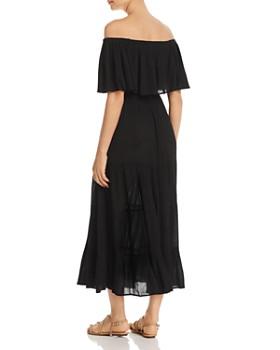 Elan - Off-the-Shoulder Crepe Maxi Dress