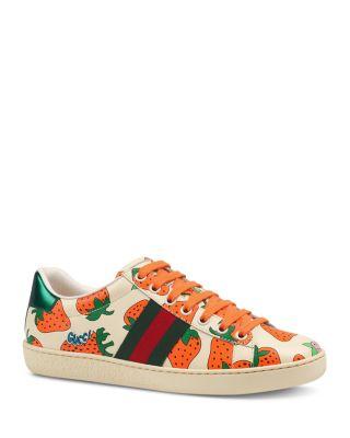 Gucci Women's Ace Gucci Strawberry