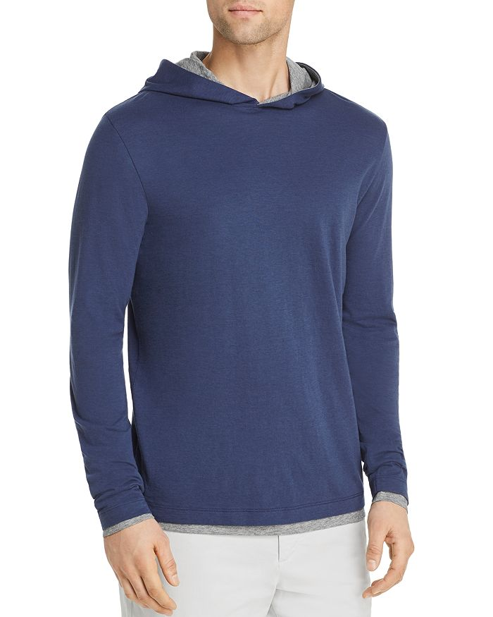 06f1e771bc3 Theory Daulton Double-Layer Hooded Long-Sleeve Tee - 100% Exclusive ...