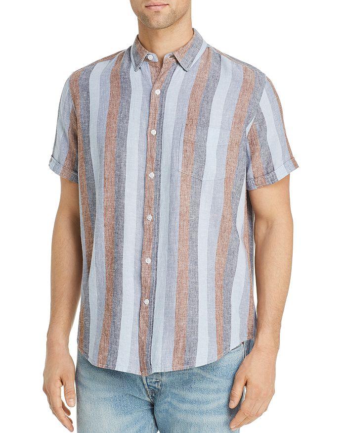 Rails - Carson Striped Short-Sleeve Regular Fit Shirt