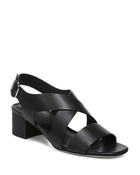 Via Spiga - Women's Fallen Block Heel Sandals