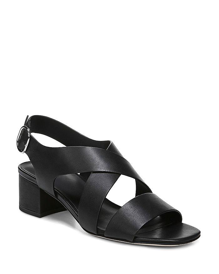 Via Spiga - Women's Fallen Block Heel Sandals