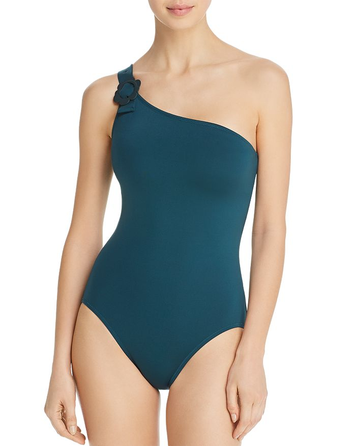 a5123b4329 kate spade new york Daisy Buckle One Shoulder One Piece Swimsuit ...