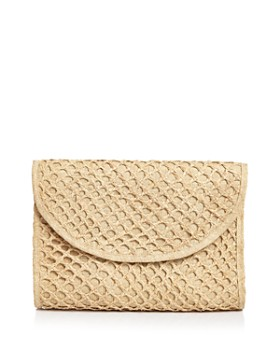 mar Y sol - Basket Weave Clutch