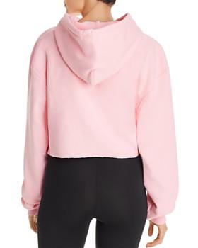 Champion - Reverse Weave Cropped Hooded Sweatshirt
