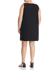Eileen Fisher Plus - Sleeveless Shift Dress