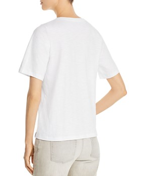 Eileen Fisher Petites - Organic Cotton V-Neck Tee
