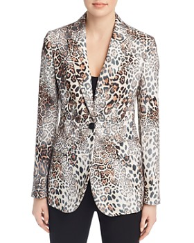 Elie Tahari - Jovanna Leopard Print Blazer - 100% Exclusive