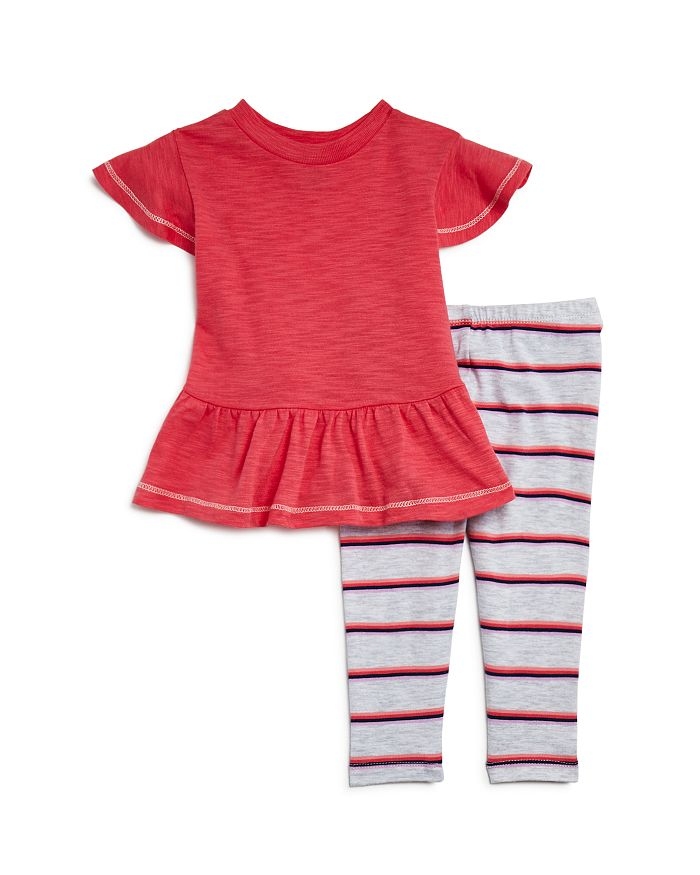 Splendid - Girls' Striped Leggings Set - Baby