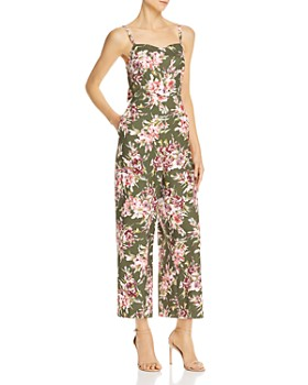03096297eea38 FRENCH CONNECTION - Cactus Floral-Print Jumpsuit ...