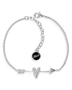 KARL LAGERFELD Paris - Hearts & Arrows Bracelet