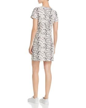 PAM & GELA - Snake Print T-Shirt Dress - 100% Exclusive