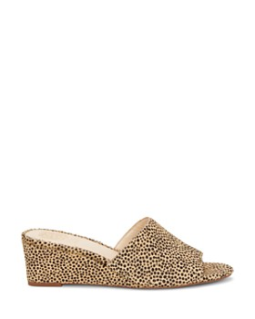 VINCE CAMUTO - Women's Stephana Wedge-Heel Slide Sandals