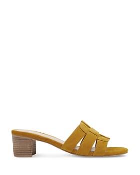 Marc Fisher LTD. - Women's Debora Woven Block Heel Sandals