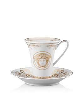 Versace - Versace Medusa Gala Coffee Cup & Saucer